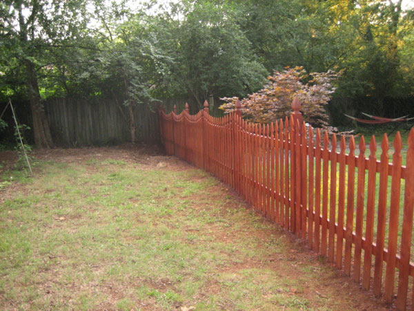 French Gothic Fence